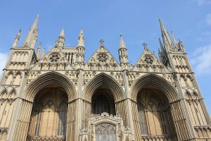 picture of a cathedral in Peterborough